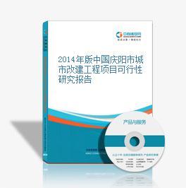 2014年版中国庆阳市城市改建工程项目可行性研究报告