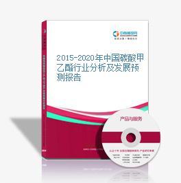 2015-2020年中国碳酸甲乙酯行业分析及发展预测报告