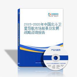 2015-2020年中国北斗卫星导航市场前景及发展战略咨询报告