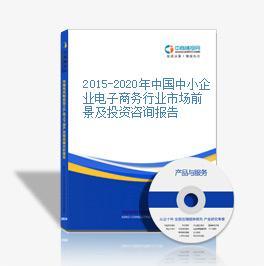 2015-2020年中国中小企业电子商务行业市场前景及投资咨询报告