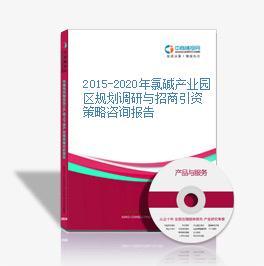 2015-2020年氯堿產業園區規劃調研與招商引資策略咨詢報告