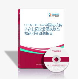 2014-2018年中國電機轉子產業園區發展規劃及招商引資咨詢報告