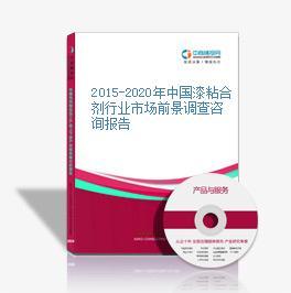 2015-2020年中國漆粘合劑行業市場前景調查咨詢報告