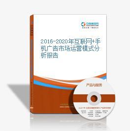 2016-2020年互联网+手机广告市场运营模式分析报告
