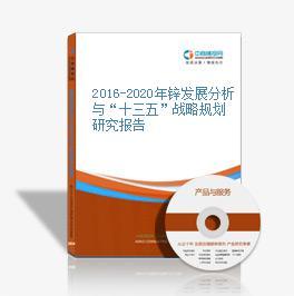 """2016-2020年锌发展分析与""""十三五""""战略规划研究报告"""