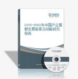 2015-2020年中国产业集群发展上景及战略350vip