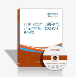 2016-2020年互联网+气动元件市场运营模式分析报告