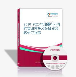 2016-2020年油墨行业并购重组前景及投融资战略研究报告