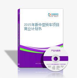 2015年版中型货车项目商业计划书
