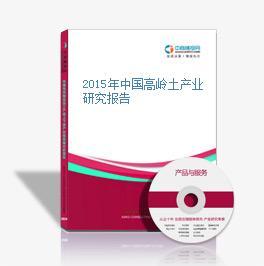 2015年中国高岭土产业研究报告