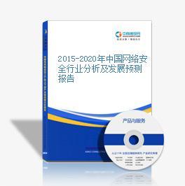 2015-2020年中国网络安全行业分析及发展预测报告