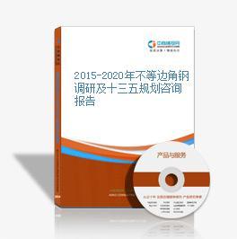 2015-2020年不等边角钢调研及十三五规划咨询报告