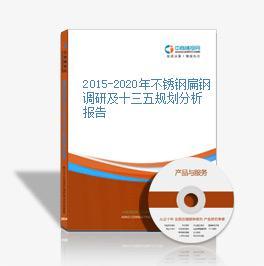 2015-2020年不锈钢扁钢调研及十三五规划分析报告