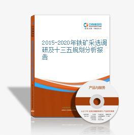2015-2020年铁矿采选调研及十三五规划分析报告