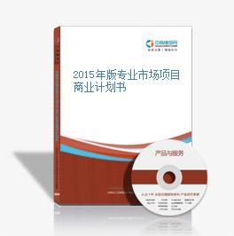 2015年版专业市场项目商业计划书