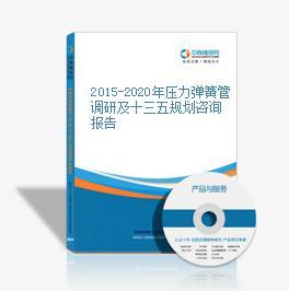 2015-2020年壓力彈簧管調研及十三五規劃咨詢報告