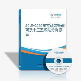 2015-2020年左旋弹簧调研及十三五规划分析报告