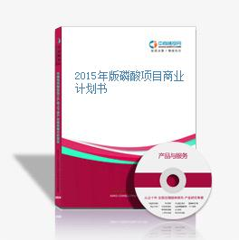 2015年版磷酸项目商业计划书