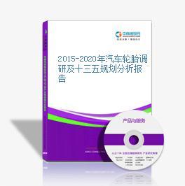 2015-2020年汽车轮胎调研及十三五规划分析报告