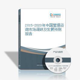 2015-2020年中国管理咨询市场调研及发展预测报告