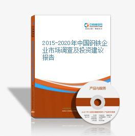 2015-2020年中国钢铁企业市场调查及投资建议报告