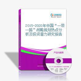 """2015-2020年中国""""一带一路""""战略规划热点分析及投资潜力研究报告"""