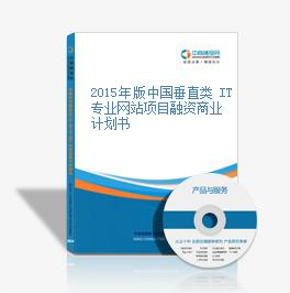 2015年版中国垂直类 IT 专业网站项目融资商业计划书