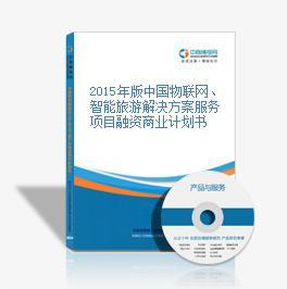 2015年版中國物聯網、智能旅游解決方案服務項目融資商業計劃書