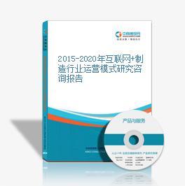 2015-2020年互联网+制造行业运营模式研究咨询报告