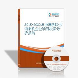 2015-2020年中國側吸式油煙機企業項目投資分析報告