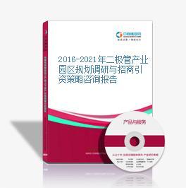 2016-2021年二极管产业园区规划调研与招商引资策略咨询报告
