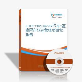 2019-2023年SUV汽车+互联网市场运营模式研究报告